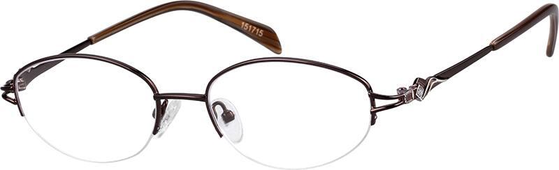 womens-half-rim-metal-oval-eyeglass-frames-151715