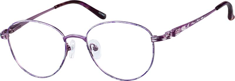Women Full Rim Metal Eyeglasses #152817