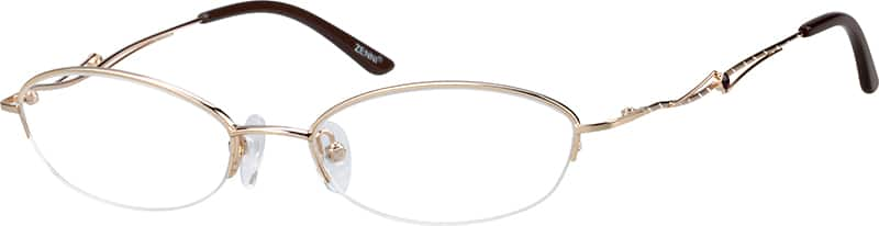 womens-half-rim-metal-oval-eyeglass-frames-154214
