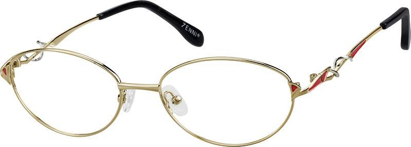 WomenFull RimMetalEyeglasses #154914