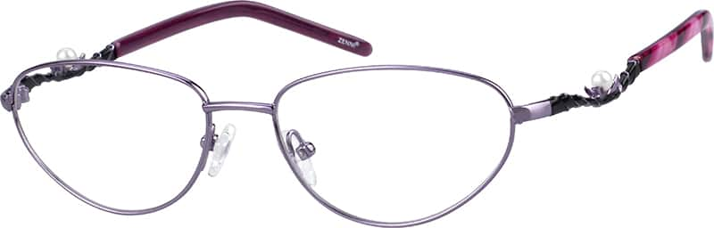 Metal Alloy Full-Frame With Stainless Steel Temples