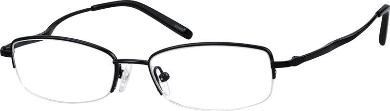 womens-half-rim-metal-rectangle-eyeglass-frames-155121