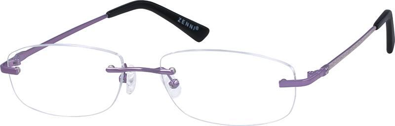 WomenRimlessMetalEyeglasses #155314