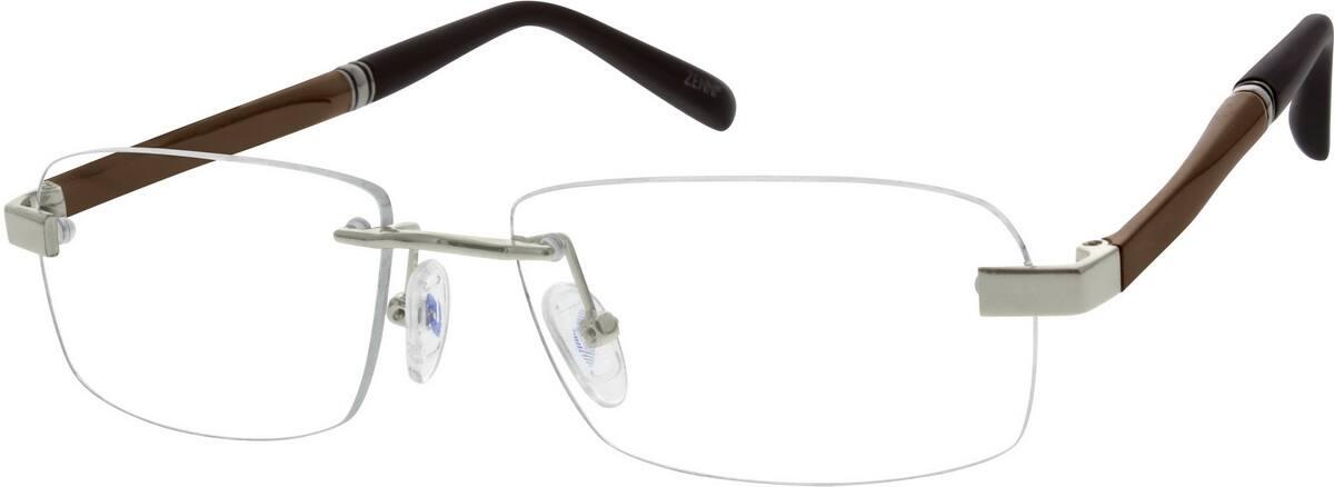 57d022fb68 Zenni Rimless Eyeglasses
