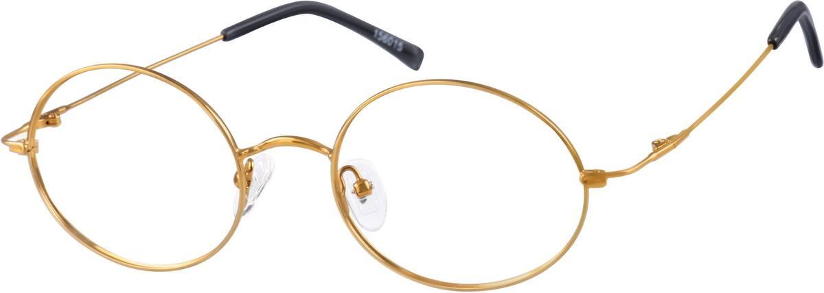 unisex-fullrim-metal-oval-eyeglass-frames-156015