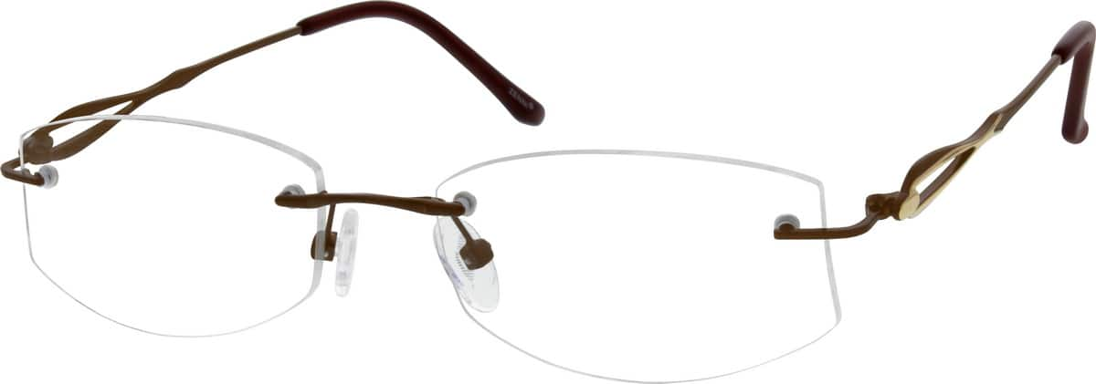 womens-rimless-metal-eyeglass-frames-156215