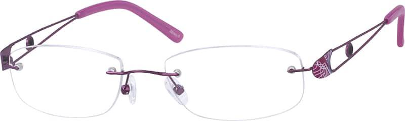 WomenRimlessMetalEyeglasses #156517