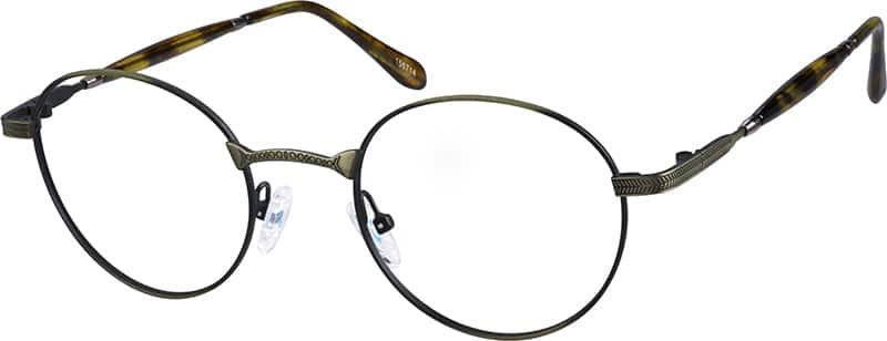 UnisexFull RimMetalEyeglasses #156714