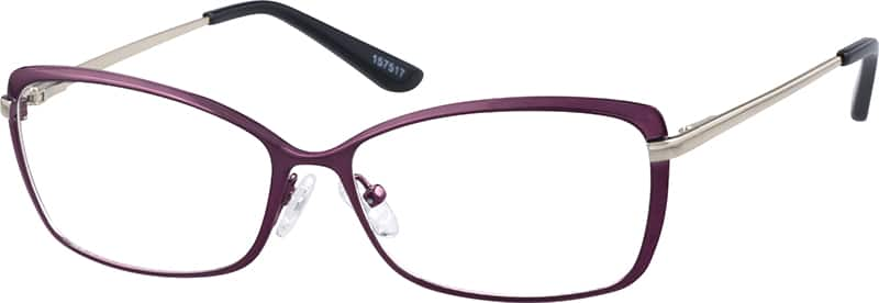 Women Full Rim Metal Eyeglasses #157517