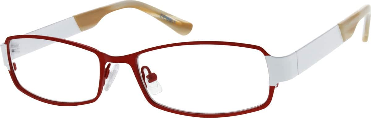 Women Full Rim Stainless Steel Eyeglasses #160018