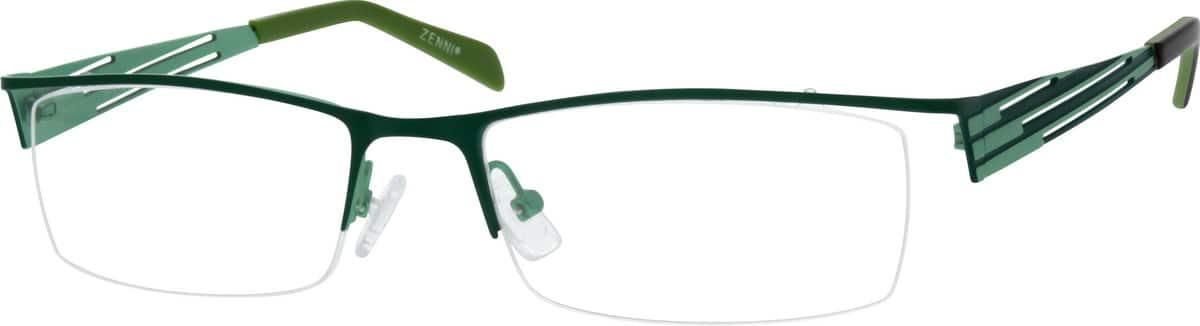 UnisexHalf RimStainless SteelEyeglasses #160121
