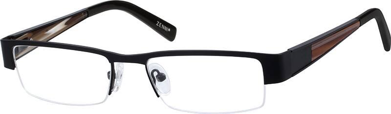 mens-half-rim-stainless steel-rectangle-eyeglass-frames-160321