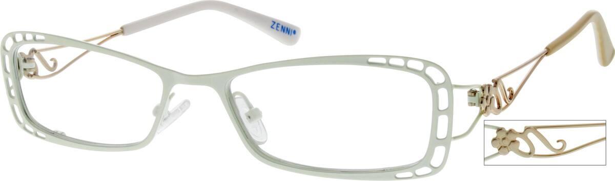 WomenFull RimStainless SteelEyeglasses #160633