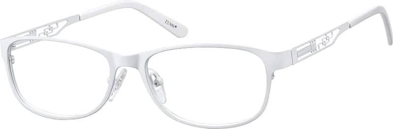 Women Full Rim Stainless Steel Eyeglasses #161116