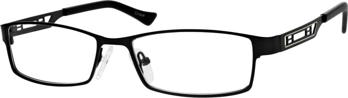 Men Full Rim Stainless Steel Eyeglasses #161215