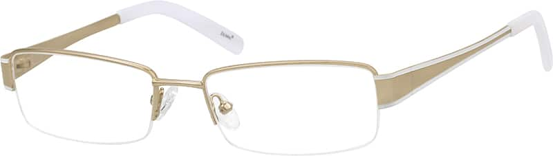 boys-half-rim-stainless steel-rectangle-eyeglass-frames-162714
