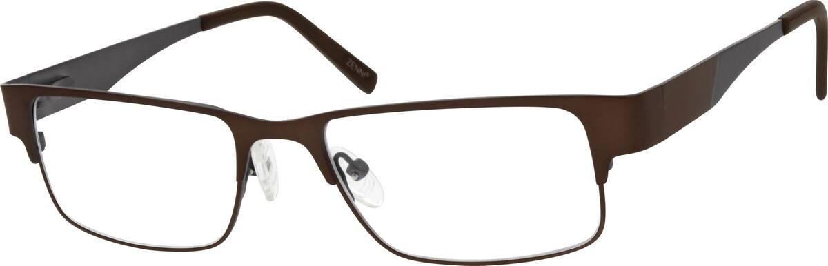 MenFull RimStainless SteelEyeglasses #163421