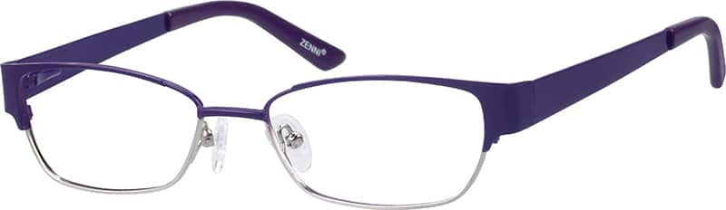 Women Full Rim Stainless Steel Eyeglasses #163717