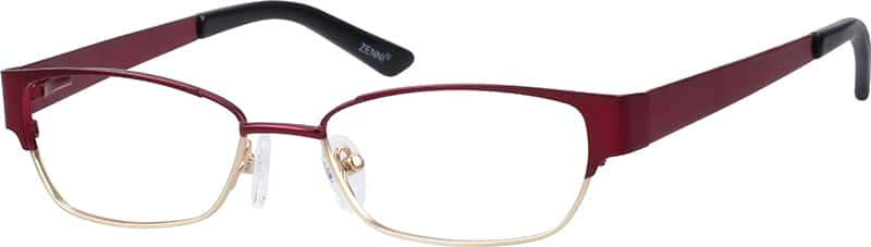 womens-full-rim-stainless steel-rectangle-eyeglass-frames-163718