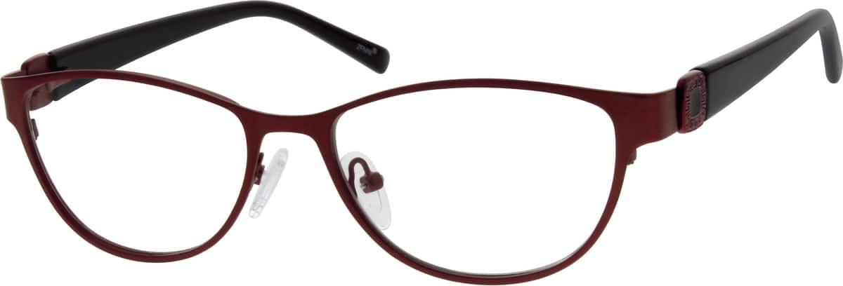 Red Oval Eyeglasses 1638 Zenni Optical Eyeglasses