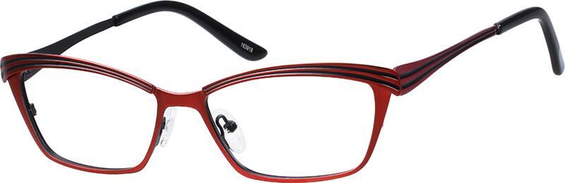 WomenFull RimStainless SteelEyeglasses #163917