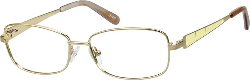 womens-fullrim-stainless-steel-rectangle-eyeglass-frames-164414