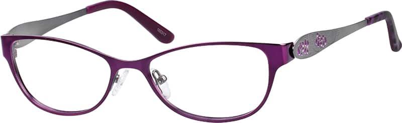 WomenFull RimStainless SteelEyeglasses #165317