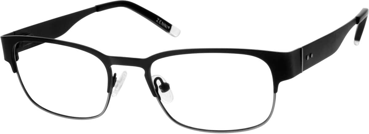 MenFull RimStainless SteelEyeglasses #165621