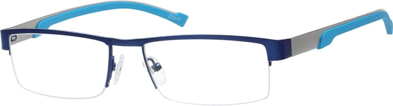 mens-half-rim-stainless-steel-rectangle-eyeglass-frames-165716