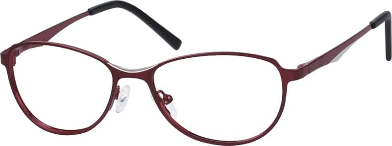 womens-full-rim-stainless steel-oval-eyeglass-frames-165818