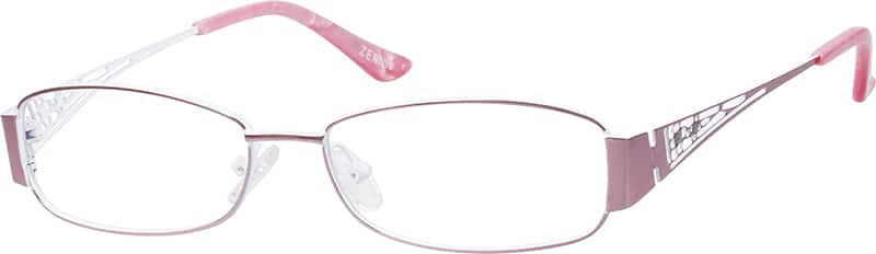womens-fullrim-stainless steel-rectangle-eyeglass-frames-165919