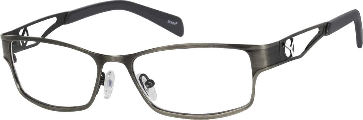 mens-full-rim-stainless-steel-rectangle-eyeglass-frames-166412
