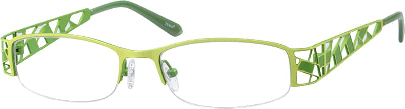 womens-half-rim-stainless-steel-rectangle-eyeglass-frames-166524