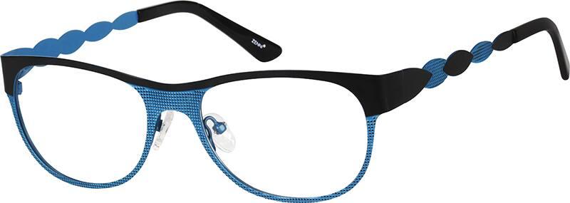 WomenFull RimStainless SteelEyeglasses #166921