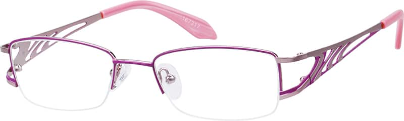 womens-half-rim-stainless-steel-rectangle-eyeglass-frames-167317