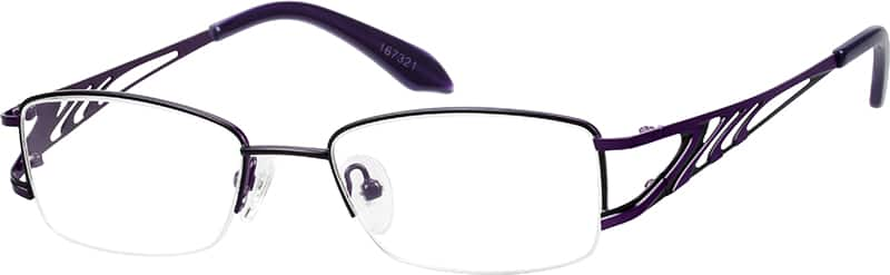 womens-half-rim-stainless-steel-rectangle-eyeglass-frames-167321