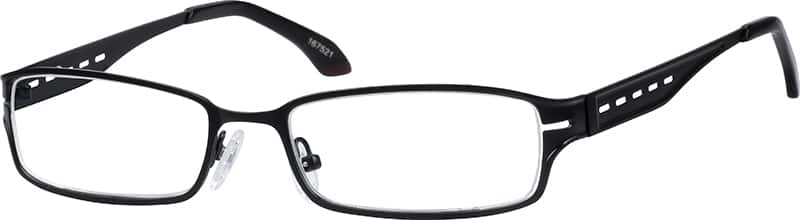 Men Full Rim Stainless Steel Eyeglasses #167521