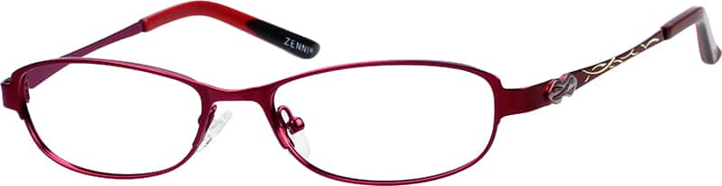 womens-fullrim-stainless-steel-oval-eyeglass-frames-167618