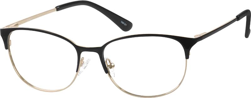 Women Full Rim Stainless Steel Eyeglasses #168121