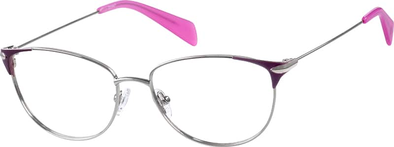 Women Full Rim Stainless Steel Eyeglasses #168511