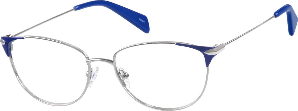 WomenFull RimStainless SteelEyeglasses #168611