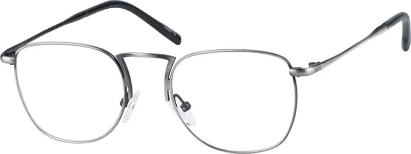 UnisexFull RimStainless SteelEyeglasses #168812
