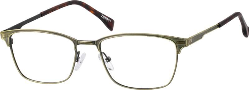 Browline Glasses Zenni Optical : Gold Browline Eyeglasses #1689 Zenni Optical Eyeglasses