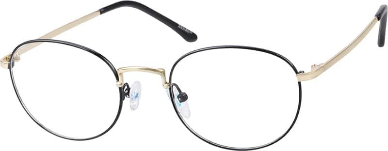 UnisexFull RimStainless SteelEyeglasses #169121