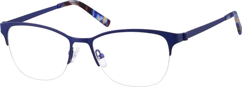 womens-halfrim-stainless-steel-square-eyeglass-frames-169516