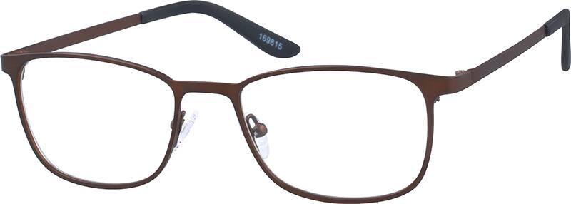 UnisexFull RimStainless SteelEyeglasses #169816