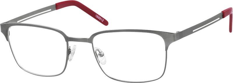 Zenni Optical Square Glasses : Gray Square Eyeglasses #1699 Zenni Optical Eyeglasses