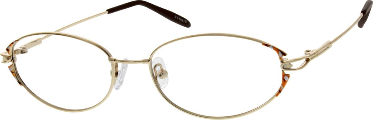 WomenFull RimMemory TitaniumEyeglasses #170017