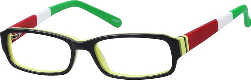 Boy Full Rim Acetate/Plastic Eyeglasses #181021