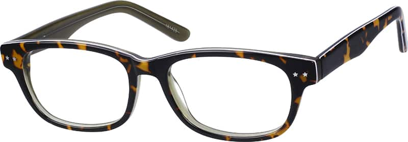 WomenFull RimAcetate/PlasticEyeglasses #181427